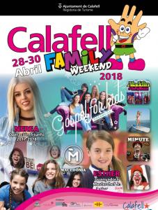 Calafell Family Weekend,Ocio Calafell