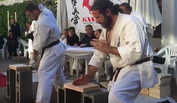 Curso Karate Kyokushin en Hotel Solimar Calafell
