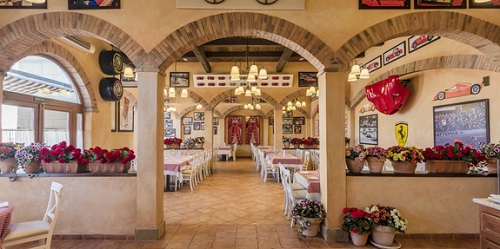 Restaurante italiano Ferrari Land