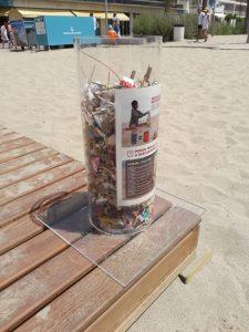 Playas limpias en Calafell