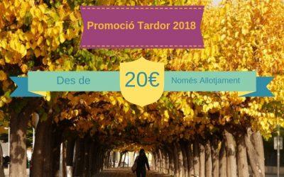 PROMOCIÓ TARDOR 2018