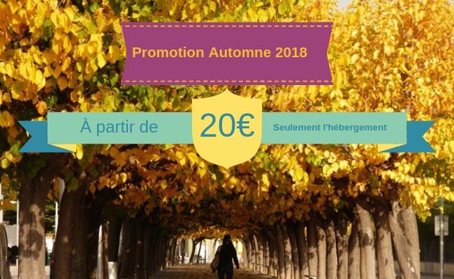 PROMOTION AUTOMNE 2018