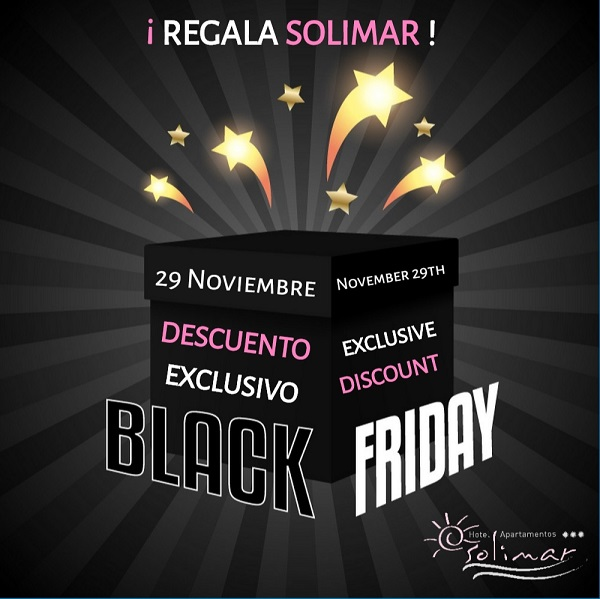 Promoción Black Friday 2020