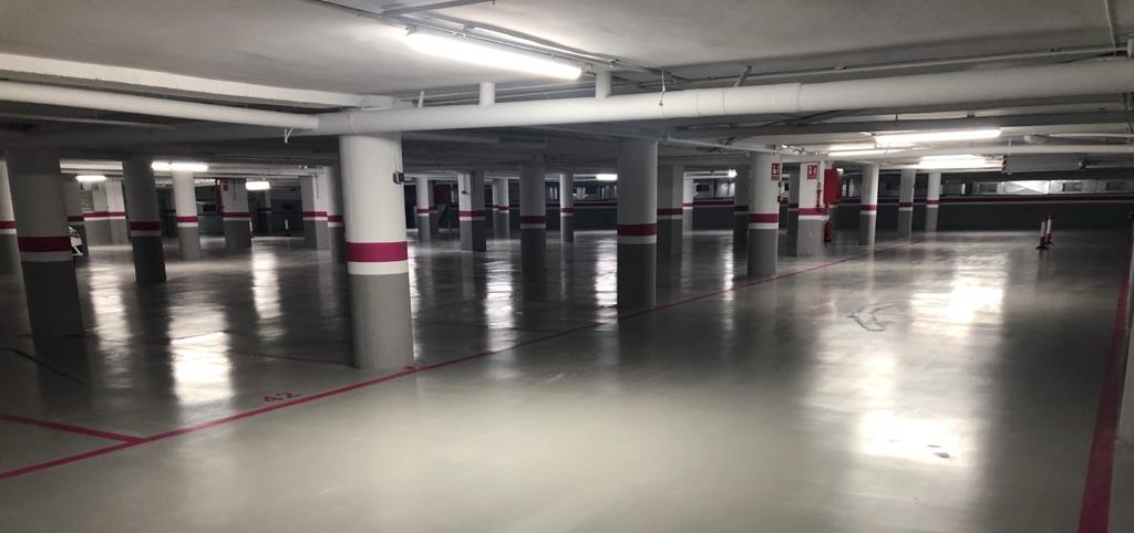 nuevo parking hotel solimar